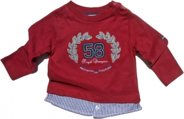 GELATI KIDSWEAR - Shirt Langarm ROYAL CHAMPION in bordeaux