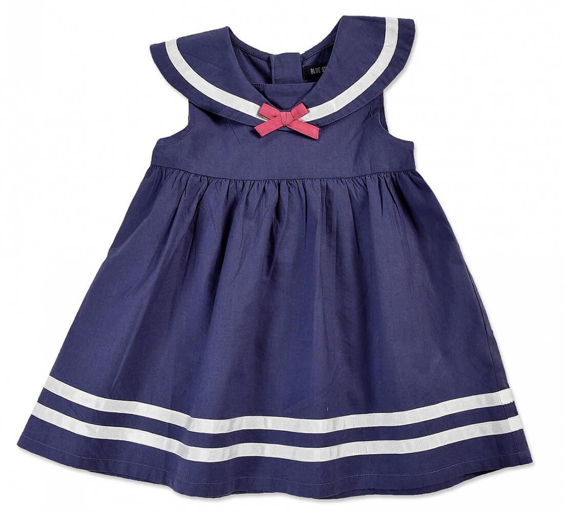 Next kleid madchen blau