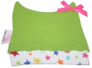 FARBGEWITTER - Mütze TROPICAL PARADISE mit Punkten in grün